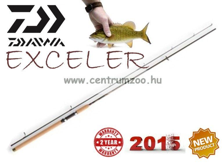 Daiwa Exceler  UL JIGGERSPIN 2,80m 4-21g pergető bot (11665-280)