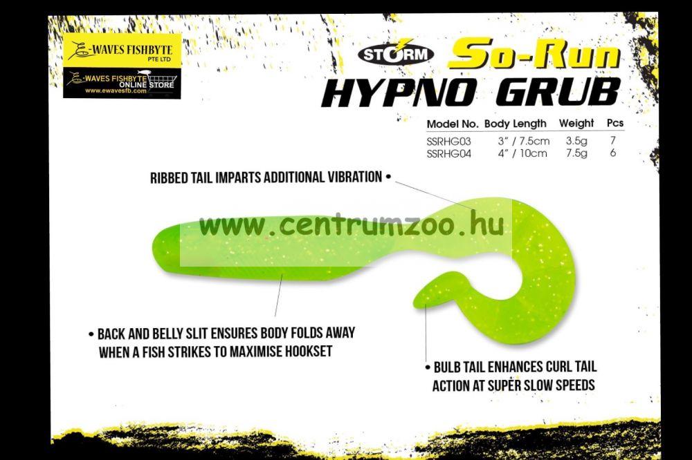 """Storm So-Run Hypno Grub 3"""" gumihal  7,5cm (SSRHGB4804PSD)"""