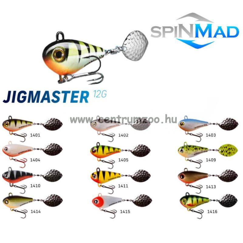 SpinMad Tail Spinner gyilkos wobbler JIGMASTER 12g 1403