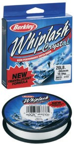 Berkley Whiplash Crystal Pro NEW 110méter 0,18mm áttetsző 21,9kg fonott