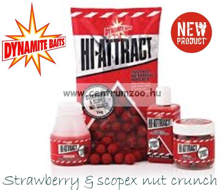 Dynamite Baits HI-ATTRACT – STRAWBERRY & SCOPEX NUT folyékony aroma 250ml (DY804)