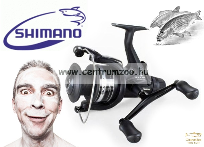 Shimano Baitrunner ST 10000RB  (BTRST10000RB) nyeletőfékes orsó