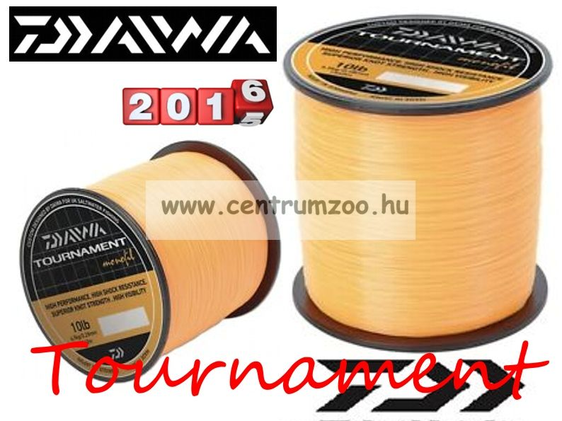 Daiwa Tournament Fluoror Orange 12lb 0,31mm 1320m prémium zsinór (TFMO120)