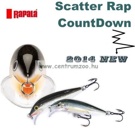 Rapala SCRCD07 Scatter Rap® CountDown Rapala wobbler TÖBB SZÍNBEN