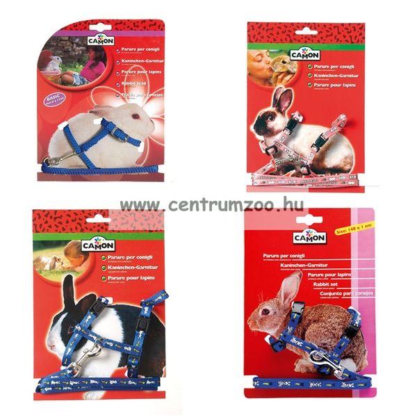 Camon nyúl, törpenyúl  kényelmes hám és póráz  (H410/B)