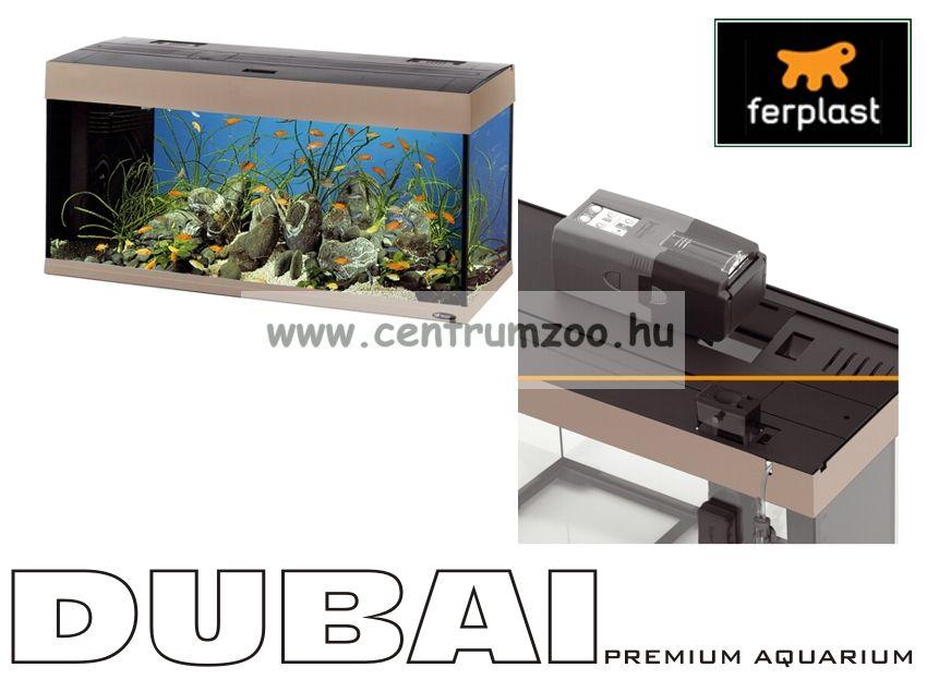 Ferplast Dubai  80 Grey Melody Profi komplett akvárium szett -szürke szín