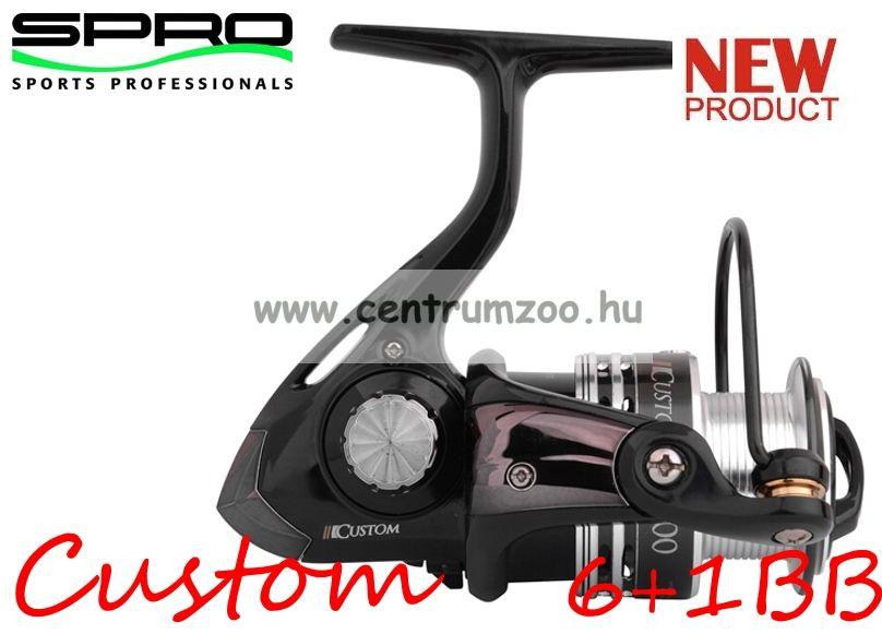 Spro Custom 50 FD 6+1cs (1311-750) elsőfékes orsó