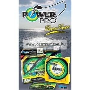 Power Pro zsinór  135m 0,41mm 40kg / zöld
