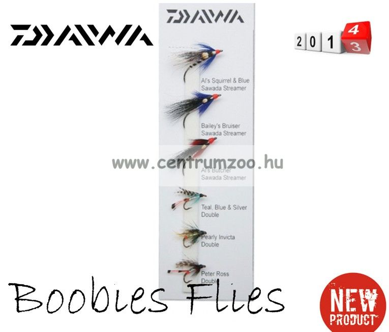 Daiwa Boobies Flies Selection DFC-10 műlégy szett 2014NEW Collection