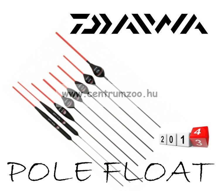 DAIWA POLE FLOAT 7-4x12 úszó  (DPF7-4X12)(193621)