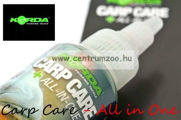KORDA Carp Care Medic Plus - All in One - sebfertőtlenítő zselé (KCC)