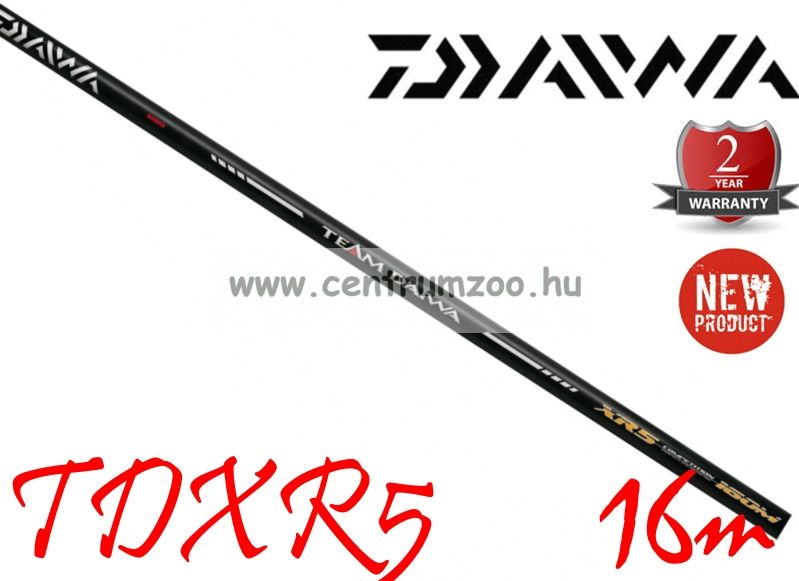 DAIWA TDXR5 16m POLE PACK  (TDXR5-160) (193589)