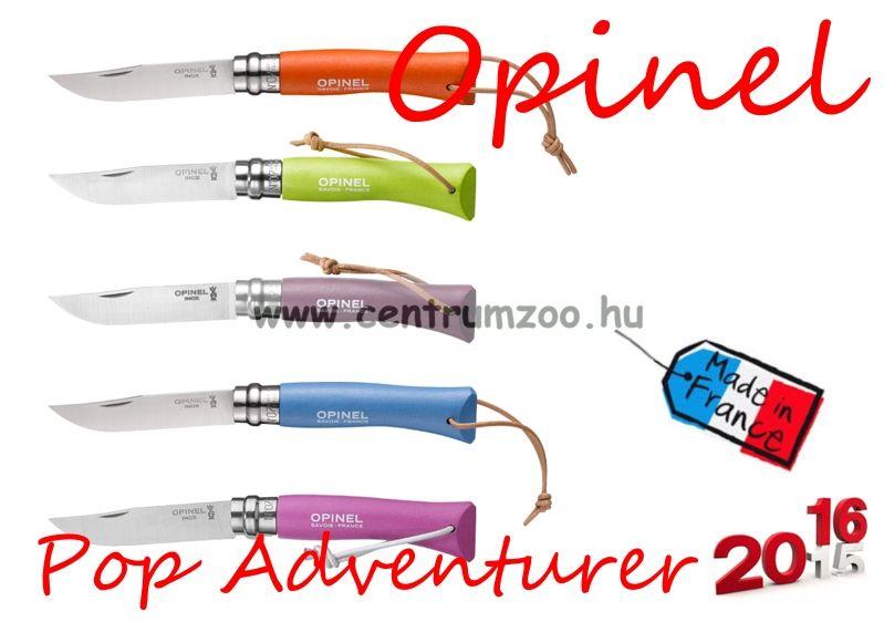 OPINEL Pop & Fuchsia Adventurer zsebkés 8cm pengehosszal (001441) - Sky Blue