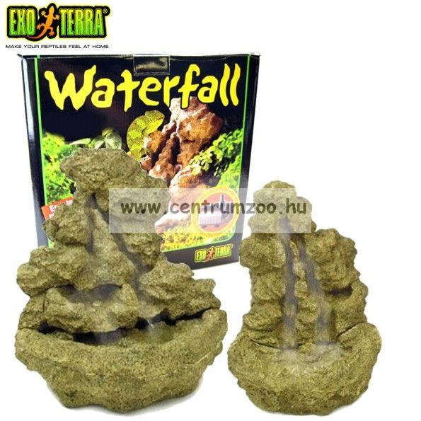 Exo-Terra Waterfall minőségi vízesés L (29x29x30cm) (2907)