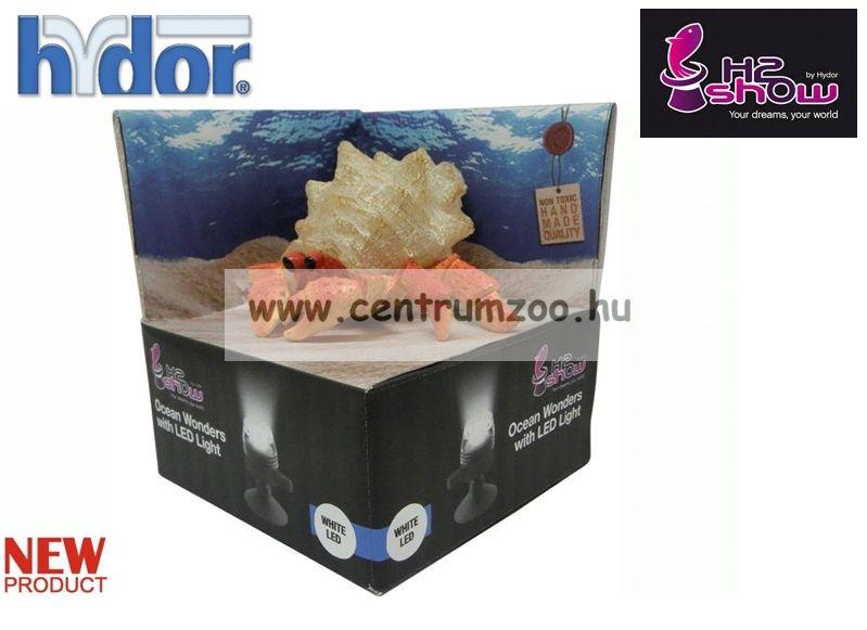 H2SHOW KIT - HERMIT CRAB remete rák + fehér LED világító - akváriumba (KI1700)