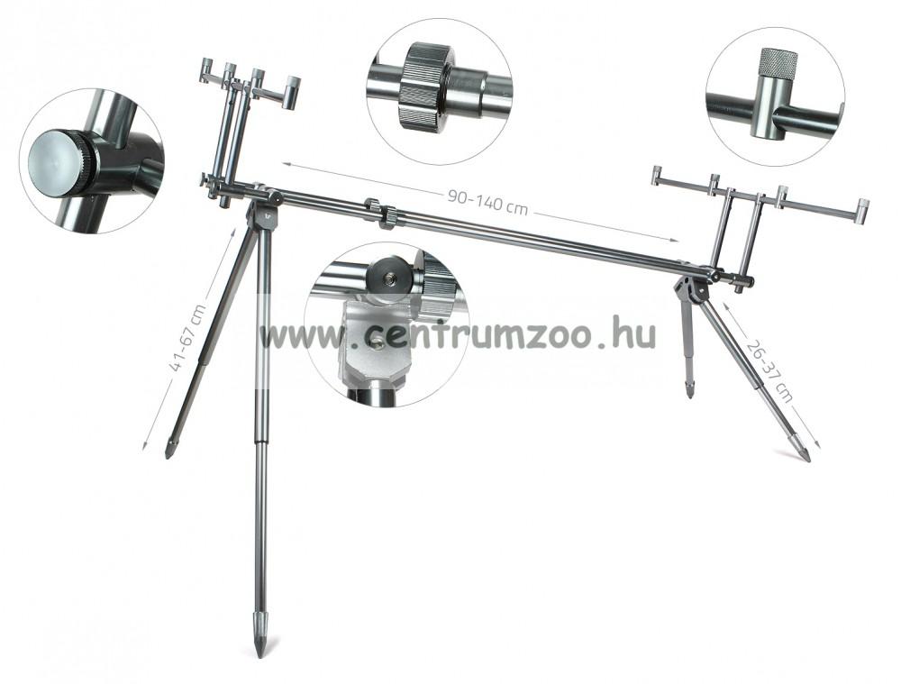 Carp Academy Alcatraz Rod Pod (6123-001) bottartó állvány