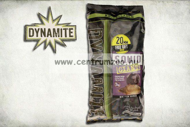 Dynamite Baits bojli Squid Giant - 20mm - 2kg - DY628