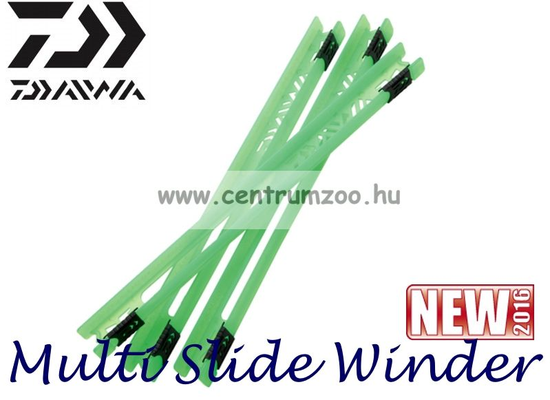 Daiwa Multi Slide Winder mm szerelék tartó létra szett 15db/csomag DMSW19GRN 199617