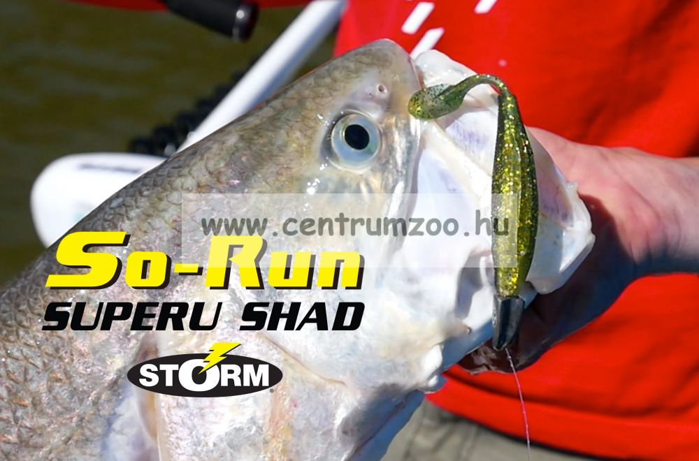"Storm So-Run Superu Shad 4"" gumihal 10cm (SSRSSB6404PSD)"