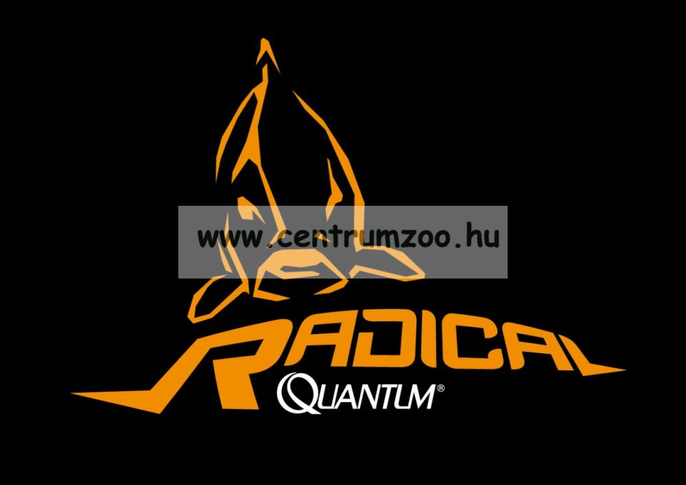Quantum Radical Bucket 38cm black 29cm*29cm horgász vödör + tető (8514002)