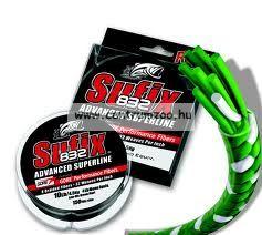 Sufix 832+ Sunglasses fonott zsinór 0.15mm/9,20kg  zöld 120m + napszemüveg