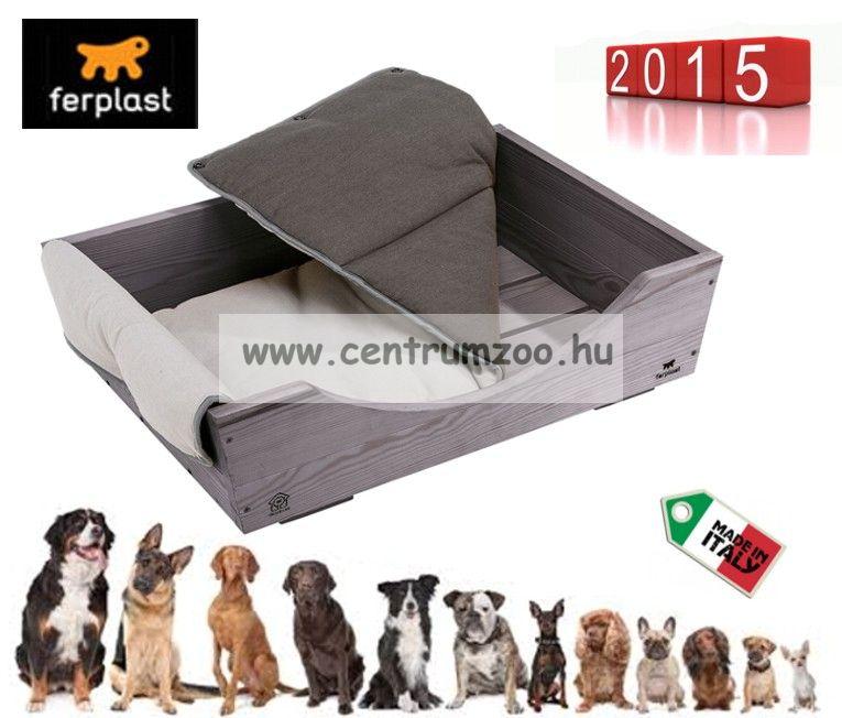 Ferplast DOG BED KUNA 70 szövet-fa prémium fekhely