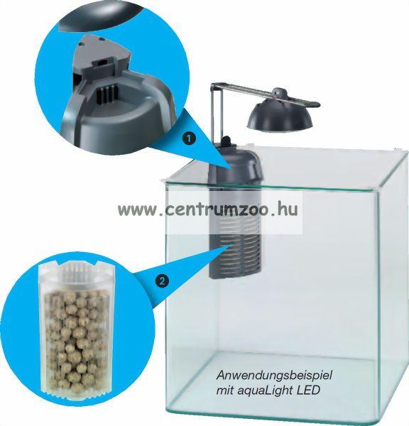 Eheim AquaCorner 60 - belső sarokszűrő 60l akváriumig (2000020)
