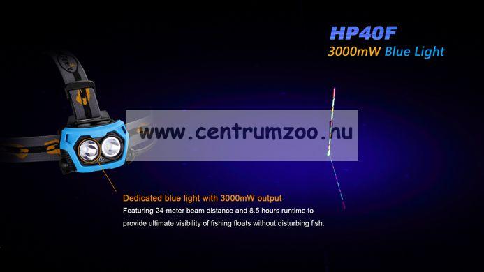 FENIX HP40H LED FEJLÁMPA (450 LUMEN) vízálló 110m fényerő