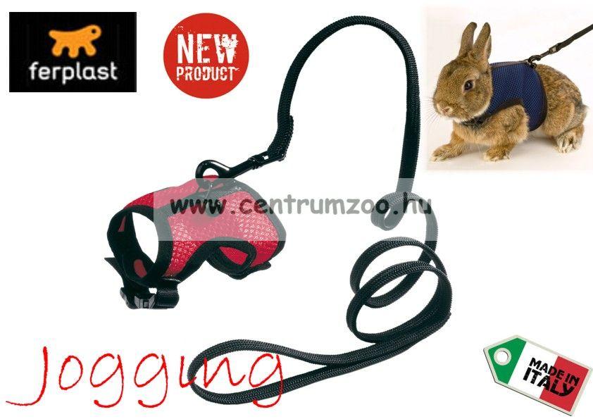 Ferplast Jogging XL Extra Large nyúl, törpenyúl, macska  kényelmes hám és póráz