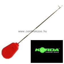 KORDA fűzőtű Heavy Latch Stik Needle Red 12cm (KBNS)