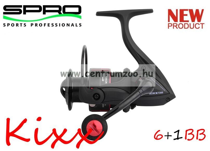 Spro Kixx 750 FD 6+1cs elsőfékes pergető orsó  (1303-750)