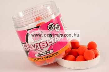 MAINLINE Baits High Visual Pop-Ups Pink Fruittella 10mm 50db lebegő fluo bojli (M13008)