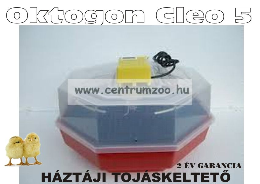 Oktogon Cleo 5 BASIC elektromos csirkekeltető (tojáskeltető, keltetőgép)