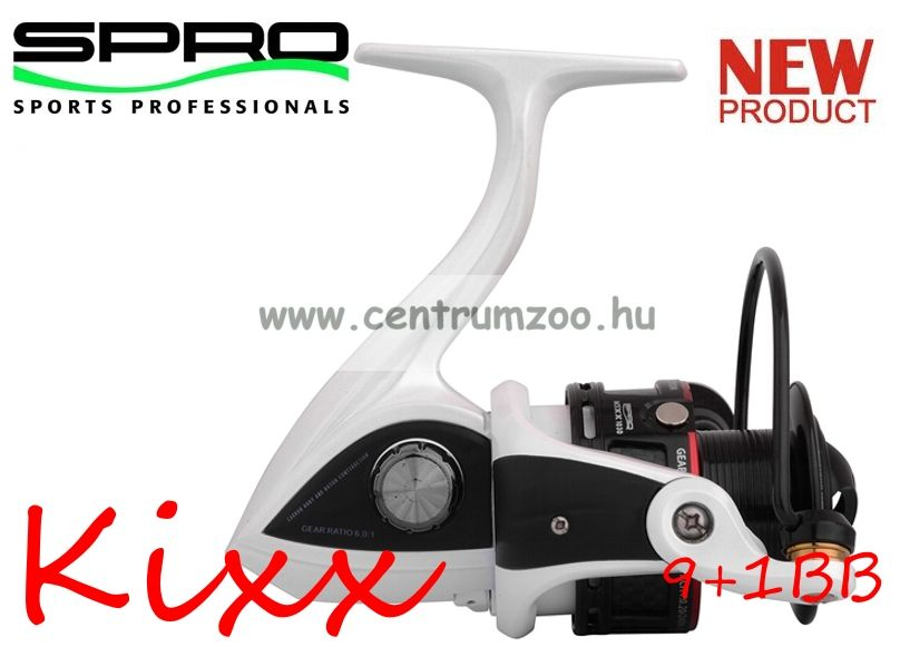 Spro Kixx 1035 FD 9+1cs elsőfékes pergető orsó  (1303-035)