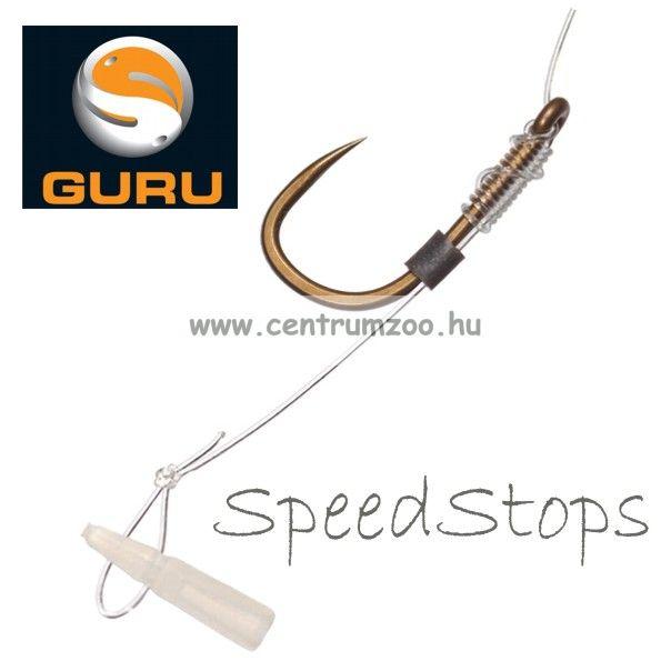 Guru - SpeedStops with Needle bojli, pellet, egyéb csali stopper és stoppertű (GSSN)