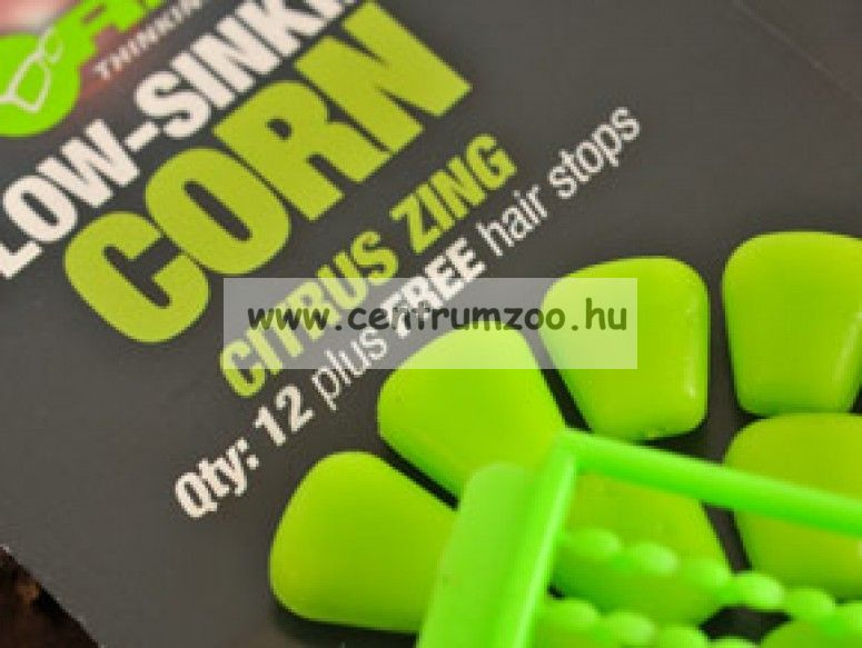 Korda Slow Sinking Corn Citrus Zing Green MŰ KUKORICA - süllyedő (KPB03)