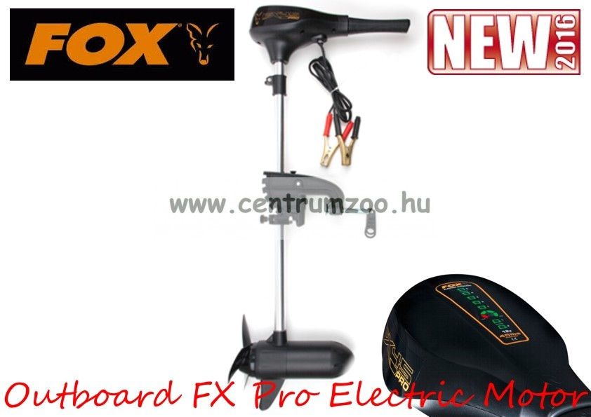 Fox FX Pro 25lbs 2 Blade Prop Outboard Professional Trolling elektromos csónakmotor 25lb (CEN005)
