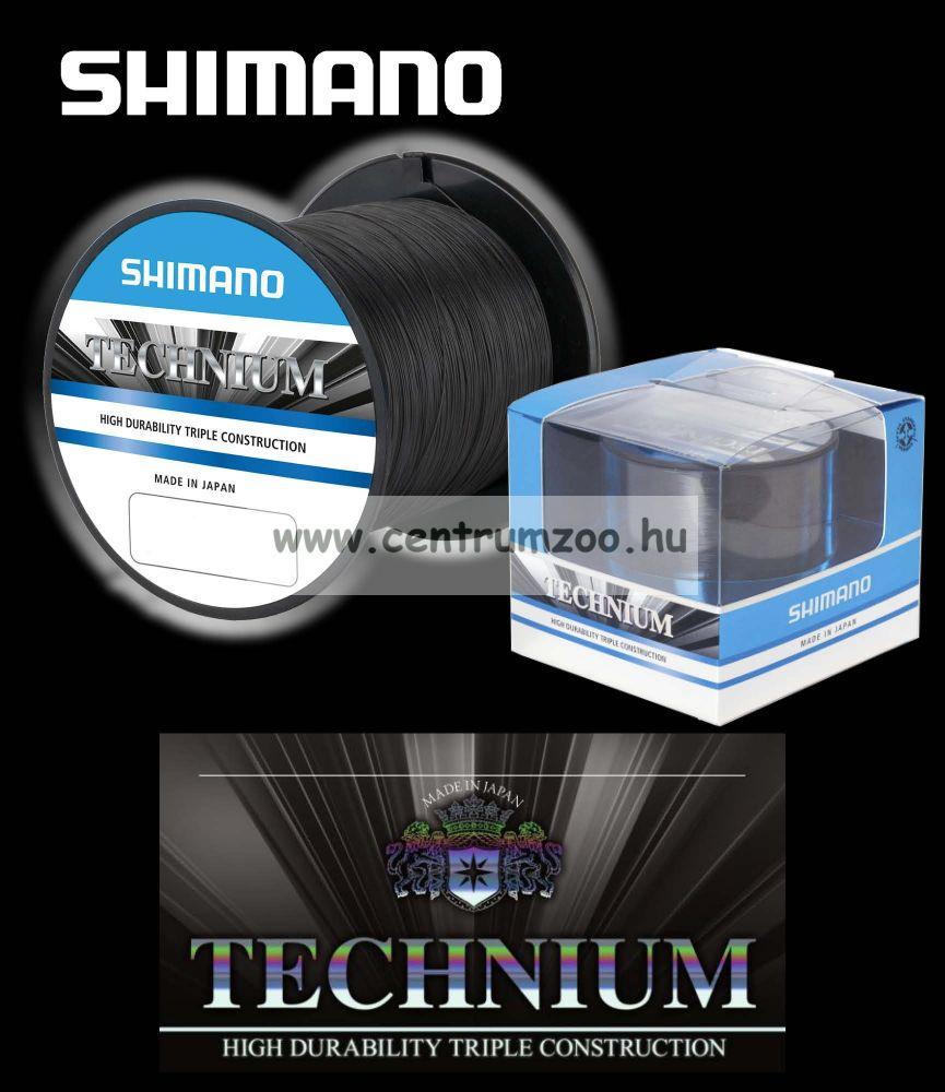 Shimano TECHNIUM prémium bojlis zsinór 0,205mm 3,8kg 2480m (TEC20QPPB) 2016NEW