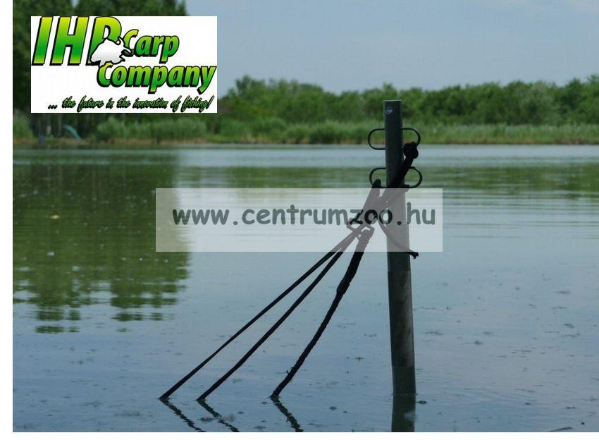 ICC ALU haltartó adapter medertapogató rúdhoz 15cm, 4db akasztóval  (ICC10115)