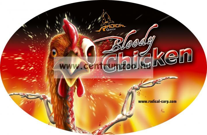Radical Carp Bloody Chicken Neon Powder Dip 50g (3949018)