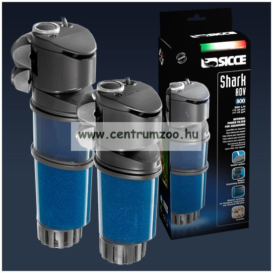 SICCE SHARK ADV. 400 - 400 l/h belső szűrő