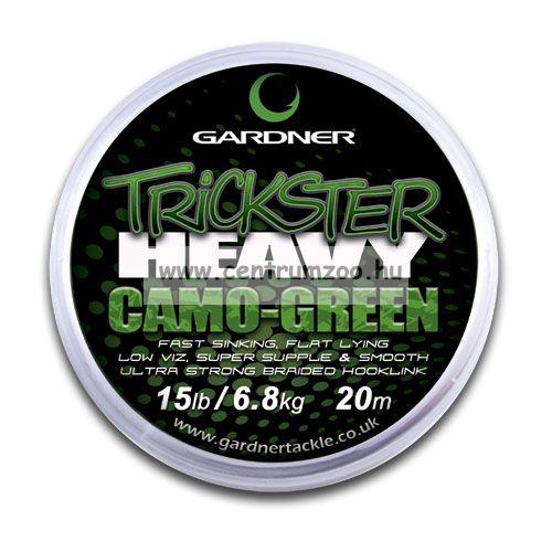 Gardner - TRICKSTER HEAVY  20m fonott előkezsinór