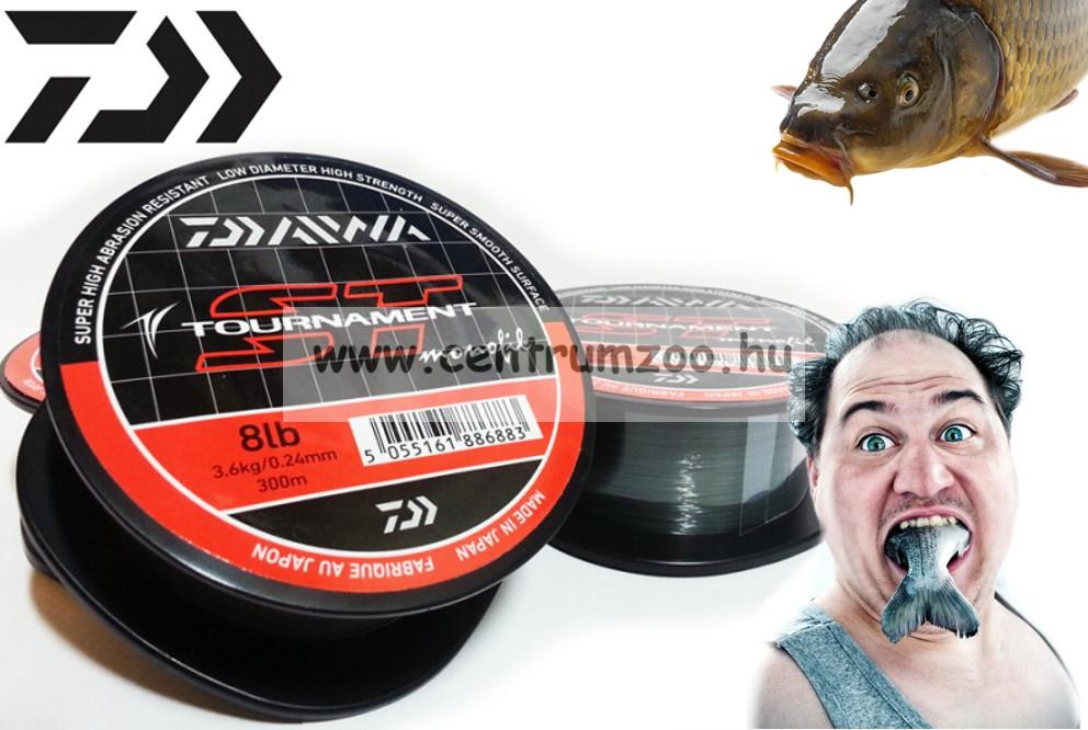 Daiwa Tournament ST Monofil prémium bojlis zsinór 0,30mm/1325m/12lb (TST012)