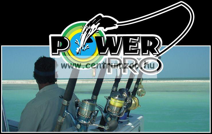 Power Pro zsinór  135m 0,19mm 13kg / sárga HI-VIS YELLOW