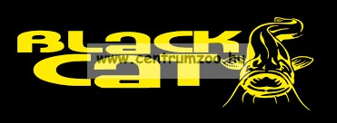 BLACK CAT Rubber coated Leader 20m 100kg grey előkezsinór - harcsás előke zsinór (2399100)
