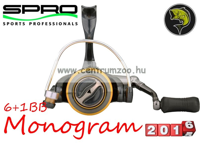 Spro Monogram 730 FD 6+1cs (1054-730) elsőfékes orsó