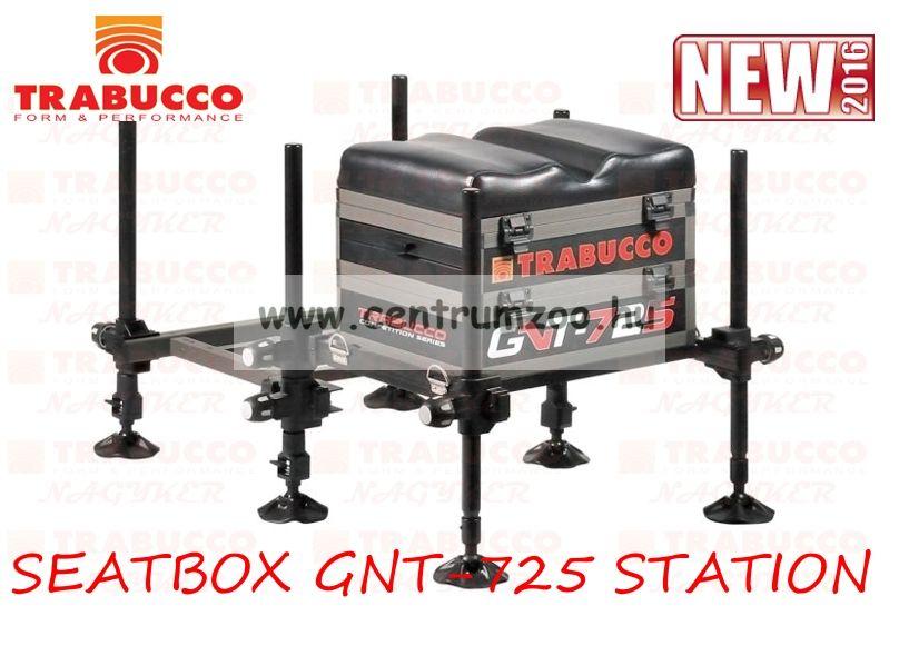 Trabucco SEATBOX GNT-725 STATION versenyláda, teljesen felszerelt láda 116-00-680