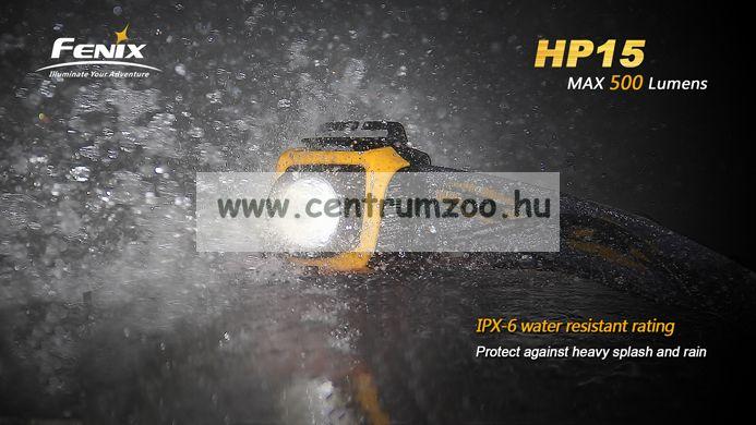 FENIX HP15UE Ultimate Edition LED FEJLÁMPA szürke 178m (900 LUMEN) vízálló 2015NEW