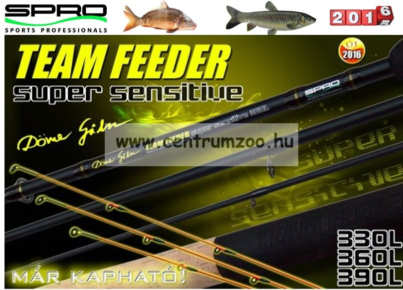 Spro Döme Gábor Spro Team Feeder Super Sensitive 330L 20-50 g feeder bot