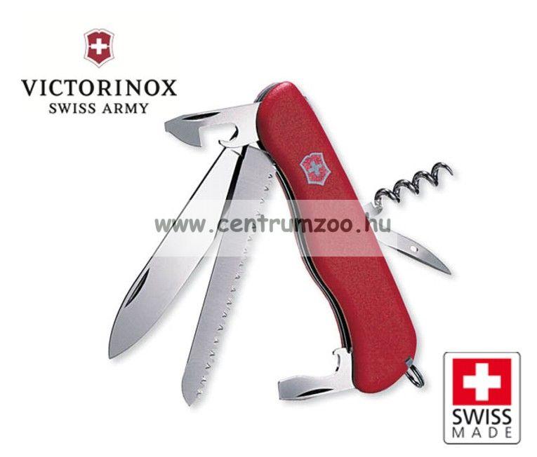 Victorinox Rucksack - Safari Red fűrészes  zsebkés, svájci bicska  0.8863